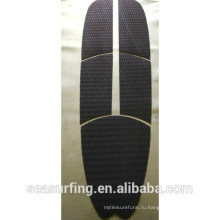 2015 черный текстура диаманта пусковой площадки палубы для весло доска/sup и