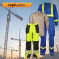 en1149-3 Tejido CVC para protección contra incendios