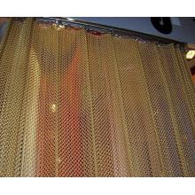 Malha de arame decorativo da cor bonita, cortina da malha do metal, cortina do metal