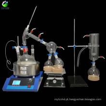 Equipamento da destilação de vácuo de 2L TOPTION para o óleo essencial