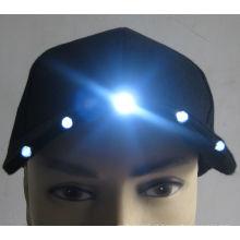 Barato personalizado de alta qualidade LED iluminado chapéus e bonés