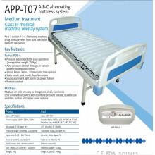 Высокий класс ICU больницы переменного воздушного матраца с насосом T07