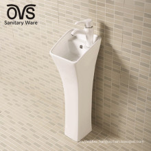 New Product Ceramic Bathroom Pedestal Sink