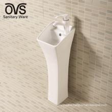 New Product Ceramic Bathroom Pedestal Sink