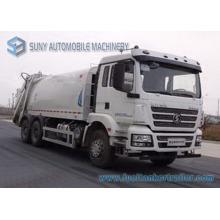 20000L 6X4 Shacman 3axles Comperssion camion à ordures