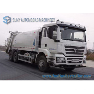 20000L 6X4 Shacman 3axles Comperssion Garbage Truck
