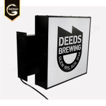 Outdoor Customized Advertising Light Boxes Sign