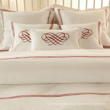 100% Cotton or T/C 50/50/Embroidery Hotel/Home Bedding Set (WS-2016048)