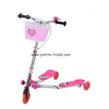 Mini scooter avec roue PU 125 mm (YV-LS302S)