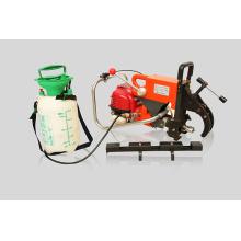 Perforadora de riel con motor de gasolina