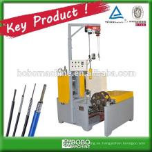 máquina de laminación de alambre para carcasa de cables