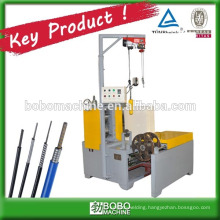 wire rolling machine for cable casing