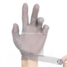 5 Fingers Protective Butcher Mesh Glove