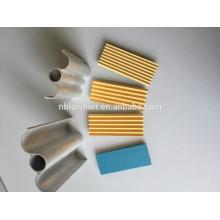 Perfiles de extrusión de aluminio para la parte de la permanente del pelo