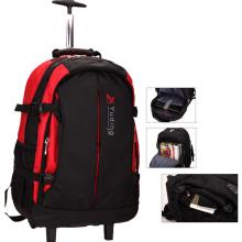 Водонепроницаемый рюкзак с тележкой для ноутбука, путешествия