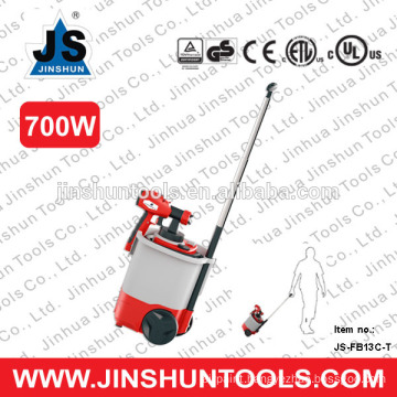 JS HVLP 750W Electric Motor Paint Spray Gun Kit 800ml, JS-FB13C-T