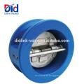 ANSI 6-дюймовый Цена Двойной Пластинчатый Резиновый Сэндвич-Пружинный Вафельный Обратный Клапан Воды