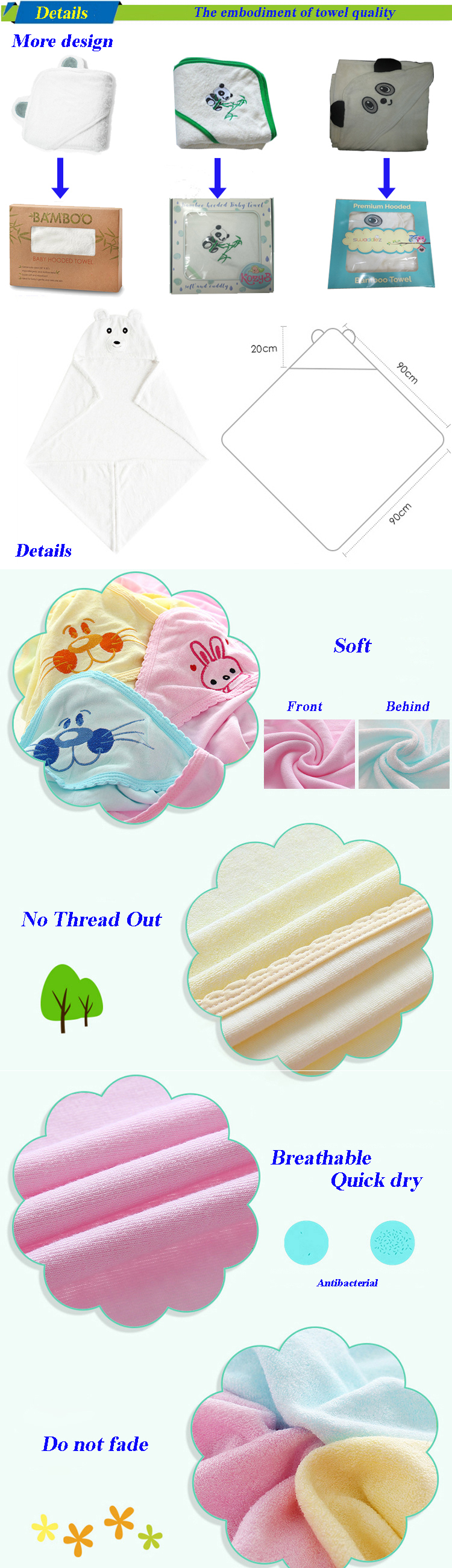 Use Baby Hooded Towel