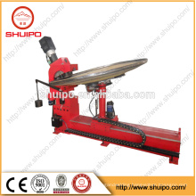 2017 SHUIPO machine Dished end flanging machine Flat Head Forming Machine