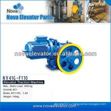 Тяговая система, тяговая машина лифта NV41G-F110