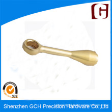 Customized Bronze Push Handle CNC Precision Machined Part