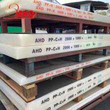 Weiße natürliche feste Polypropylen-PP-Platten