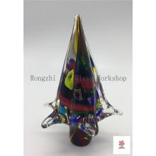 Halloween Tree Glass Sculpture
