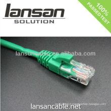 Connecteur rj45 cat6 rj45 cat6 8p8c OEM disponible
