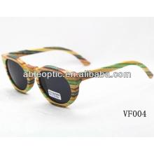 Gafas de sol de bambú del diseño de encargo con estándar del CE
