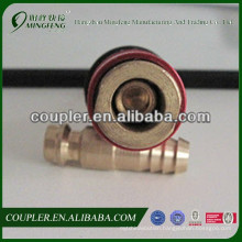 The Quick Coupler For Welder With Check Valve
