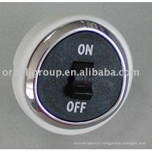 Bouton de basculement de l'ascenseur (allumé, éteint), Ascenseur des pièces