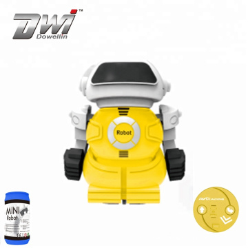 DWI wholesale Coke can Funny interactive toy for children kids robot toys remote control