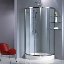 Round Arc Shape Sliding Shower Cubicle (HR269)