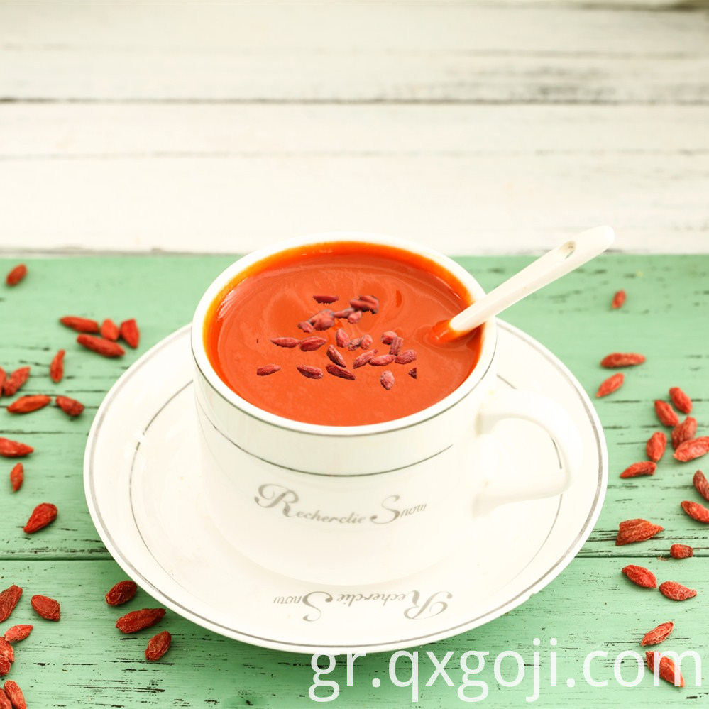 Goji Berries Fresh Juice Concentrate