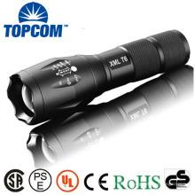 (Test) XML T6 Zoom Taktische Taschenlampe