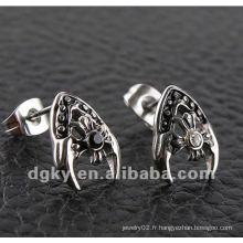 Les plus récents talons de boucles d'oreille design pour hommes