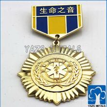 Material hermoso de la aleación del cinc de la insignia de la marina de guerra del metal