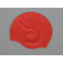 Professional Waterproof Ears Protection Silicone Adult Swimming Cap