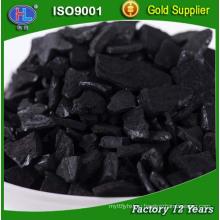 Промышленное применение гранулированного активированного угля в металлической отделке поле