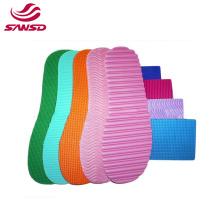 2021 Antislip EVA texture anti slip rubber sheet for EVA Sole outsole