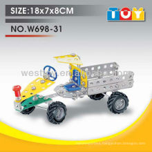 Educational DIY types of tractor assemble toy