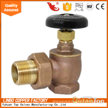 GUTENTOP -LB Brass BSGV Steam Radiator Valve - Bronze, Heavy Pattern