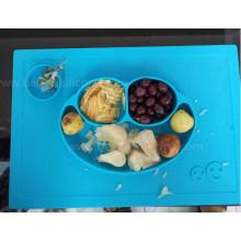 FDA пищевой Стандарт lfgb силиконовые Детское фруктовое блюдо