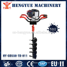 manual post hole auger earth auger machine gas engine manufacture earth auger