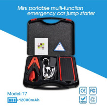 New model 12000mAh rechargeable battery jump starter