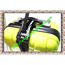 200cm Adjustable Luggage Strap with Combination Lock and Weighing Scale