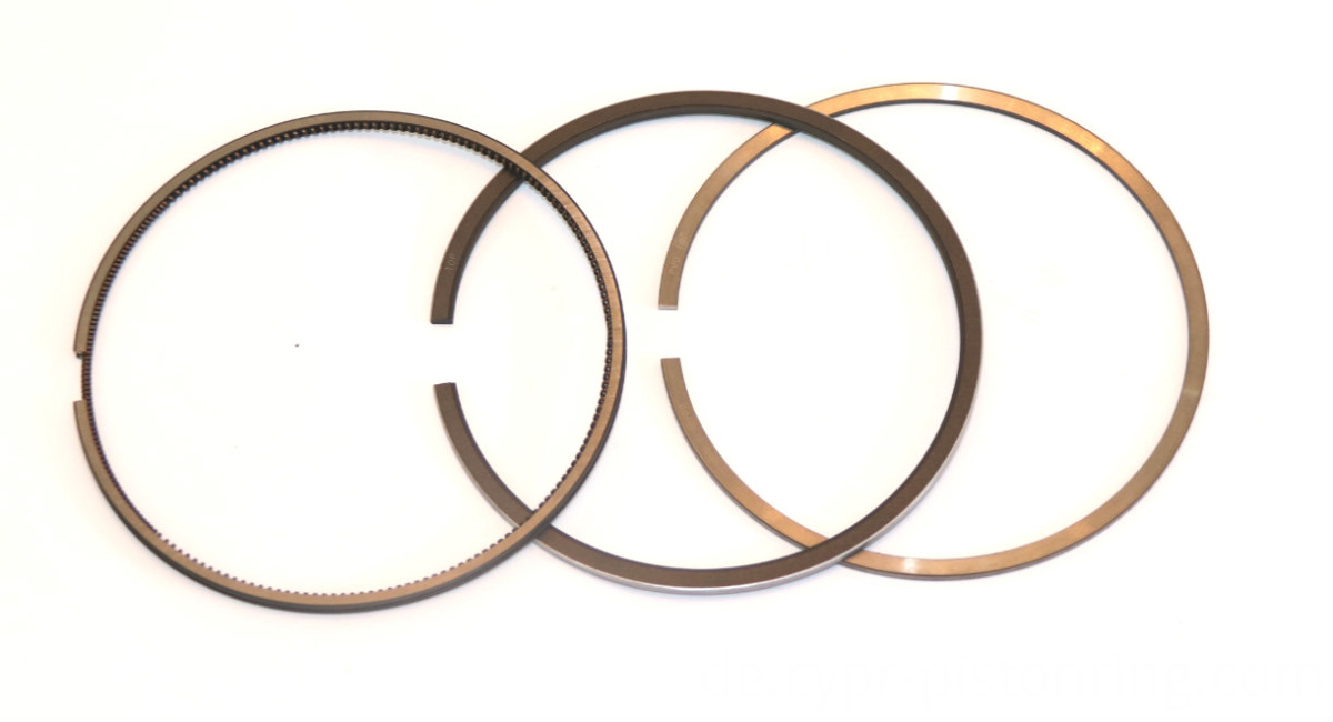 Engineering piston ring