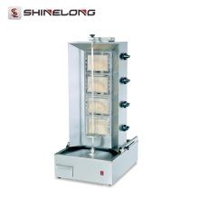 CE & RoHS genehmigte kommerzielle Gas Shawarma Kebab-Maschine