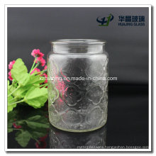 20oz Wide Mouth Glass Store Jar