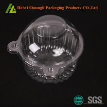 डिस्पोजेबल प्लास्टिक एक मिनी कप केक बक्से